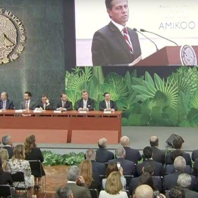 En Vivo: Anuncio de inversión turística del destino temático 'Amikoo' en Quintana Roo