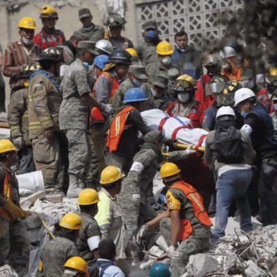 SISMO EN MÉXICO | Van 251 muerto mientras avanza el rescate entre los escombros tras el movimiento telúrico en el centro del país