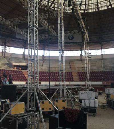 Tras multa de 11 mil pesos, levantan clausura a la Plaza de Toros; sí habrá concierto de Morat