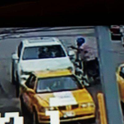 Difunden video del momento en que motociclista ejecuta a 'Jerry' Barceló, hijo de la empresaria yucateca 'Tere' Cazola
