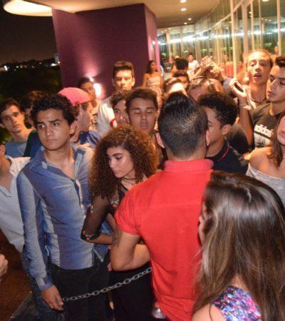 TERMINAN CON FIESTA ADOLESCENTE EN CANCÚN: Encuentran en Bar Han a 300 menores y lo clausuran