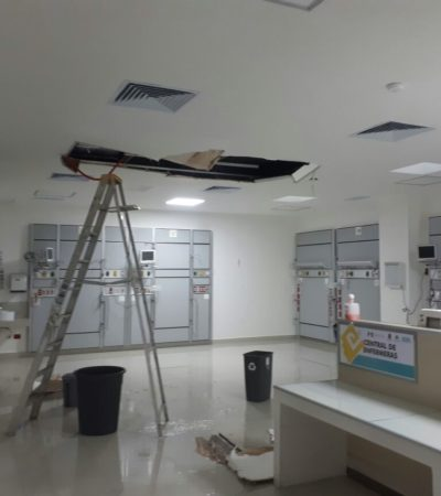 Revisarán Hospital General de Cancún por 'vicios ocultos'