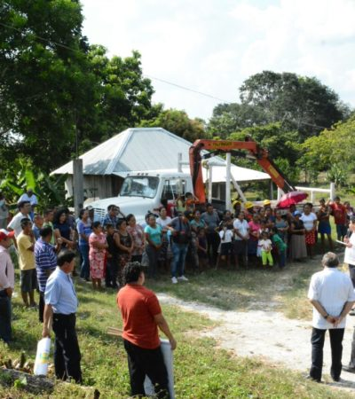 Inician ampliación de la red eléctrica en el poblado Tres Garantías de OPB