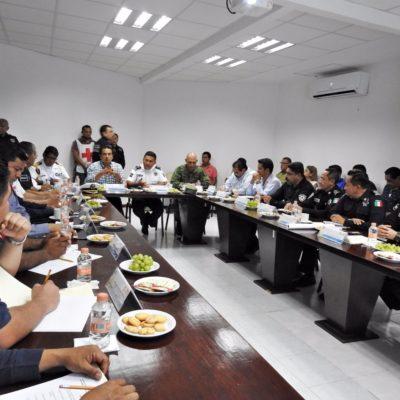 Afinan operativo de seguridad para la noche del Grito en Chetumal