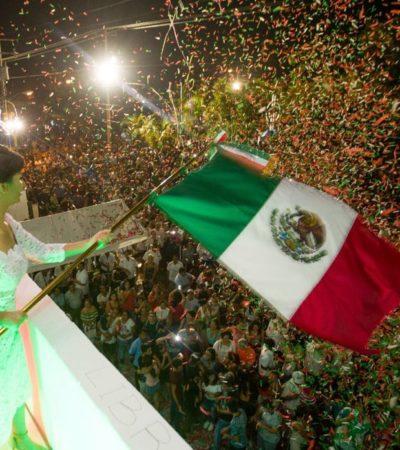 Vive Puerto Morelos histórico 'Grito' de Independencia