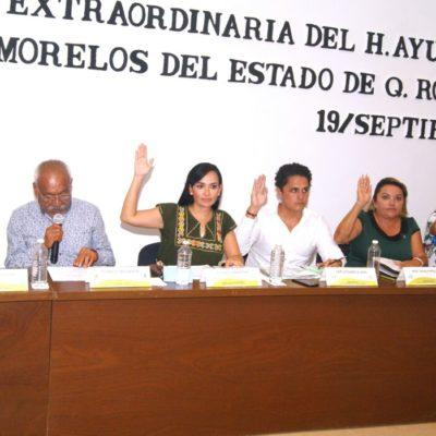 Avala Cabildo de Puerto Morelos proyecto de decreto enviado por el Congreso del Estado