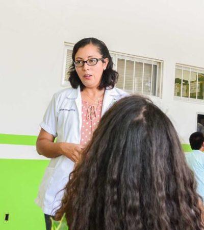 Implementan acciones en Puerto Morelos para frenar brote de conjuntivitis