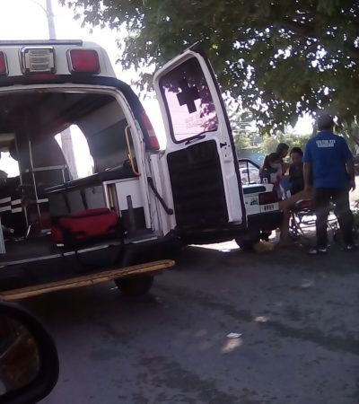 MUJER DA A LUZ EN UN TAXI EN CANCÚN: Iba a un hospital, pero al ver que no llegarían, el conductor se detuvo y pidió ayuda