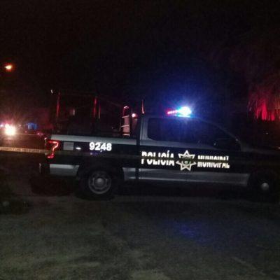 FALLIDO ASESINATO EN TULUM: Empistolados intentan matar a un hombre en el parque de la CROC y al no lograrlo, huyen