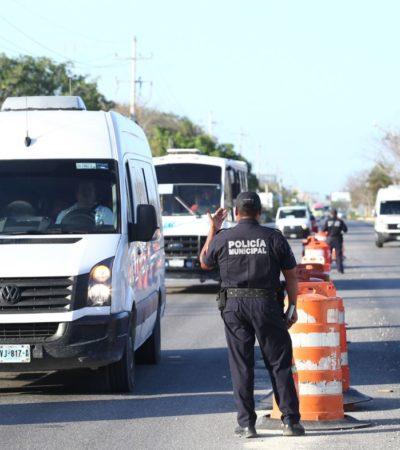 Mantienen operativos de Tránsito en prevención de accidentes, aseguran en Solidaridad