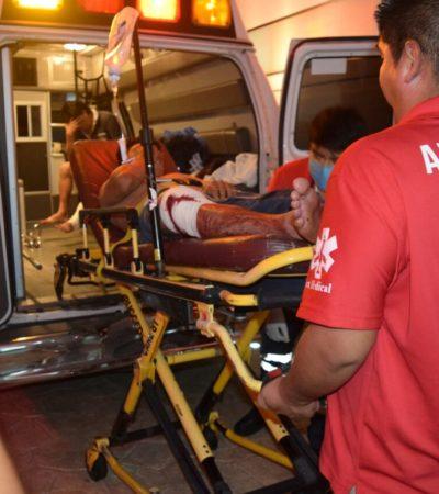 BALEAN A CUATRO EN CANCÚN: Múltiple intento de ejecución en la Región 219