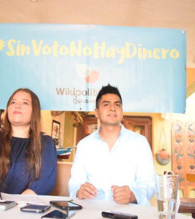 Descartó Congreso 'Sin Voto no hay Dinero': Wikipolítica