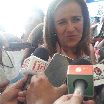 Exhorta Margarita Zavala al diálogo político