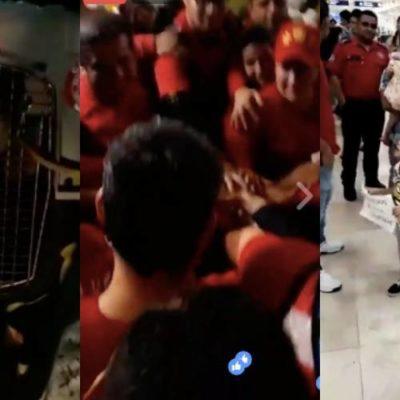 REGRESAN HÉROES DE CANCÚN: Aplauden a rescatistas del grupo 'Topos' del Cuerpo de Bomberos que viajaron a la CDMX por el sismo