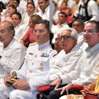 Felipe Calderón y Ricardo Anaya, ni juntos ni revueltos en el Congreso de Quintana Roo