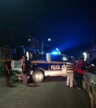 INTENTO DE EJECUCIÓN EN COZUMEL: Disparan contra un hombre en la colonia San Miguel II