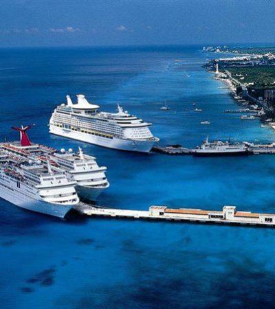 Desvían cruceros a Cozumel por el huracán 'Irma' en el Atlántico