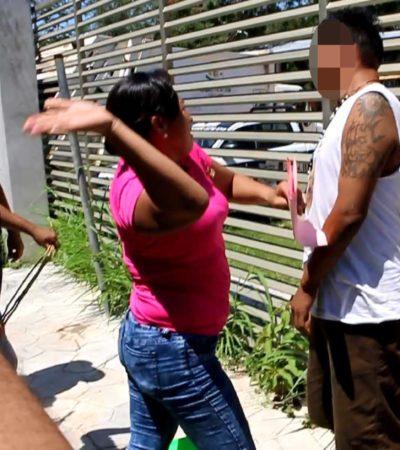 GALERÍA | Intentan linchar a hombre por presunto intento de violación en José María Morelos