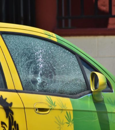 VIOLENCIA EN EL CORAZÓN DE LA ZONA MAYA: Disparan contra un automóvil de empresario en Carrillo Puerto
