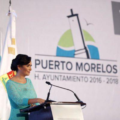 INFORME EN PUERTO MORELOS: Reconoce Laura Fernández problemas con invasiones; sobre caso Punta Brava, se comprometió a dar certeza jurídica a los propietarios