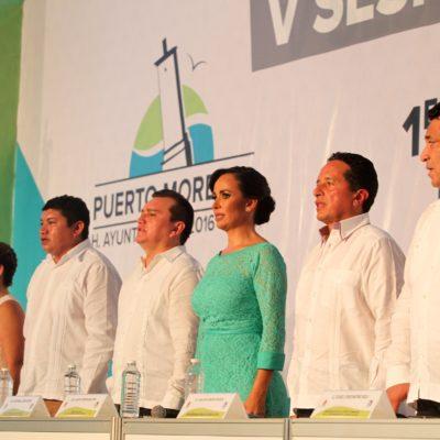 MANIFIESTO CONTRA INFORME: Denuncian 'Voces Unidas de Puerto Morelos' opacidad y solicitud de préstamo por 20 mdp
