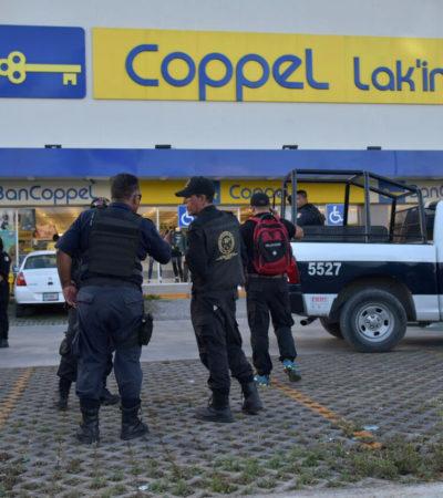 Disparan guardias de seguridad contra dos mujeres para tratar de detener a presunto ladrón en Cancún