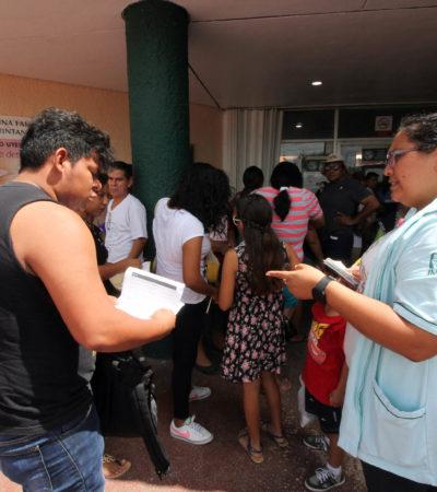 Reportan más de cinco mil estudiantes con conjuntivitis