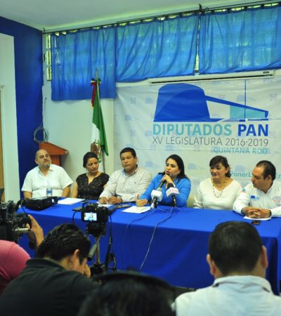 A marchas forzadas y presionados por el tiempo, presentan diputados del PAN su propuesta de reforma político electoral