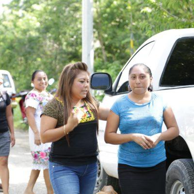 La salud en la Zona Maya es prioridad para esta administración, asegura Romi Dzul