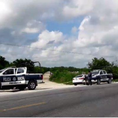 VIOLENCIA SIN TREGUA EN EL NORTE DE QR: Hallan en domingo a otro ejecutado en la Ruta de los Cenotes