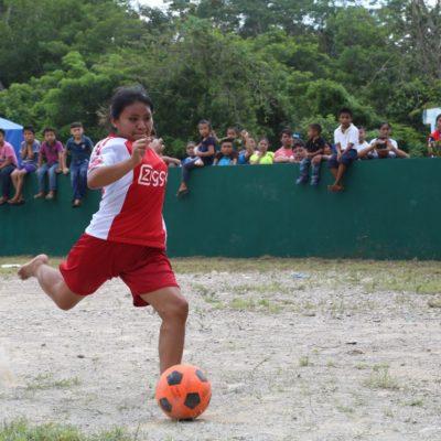 Realizan Fiesta Deportiva de Independencia en Tulum