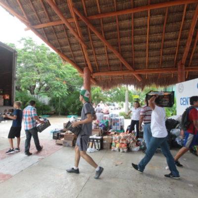 MANDA SOLIDARIDAD AYUDA A ZONA DE DESASTRE: Completan primer envío desde Playa para los damnificados del terremoto en Oaxaca y Chiapas