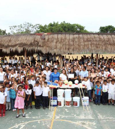 Escuela 'Ford 198' se beneficia con el programa 'Avanzando Juntos en tu Escuela' en Tulum
