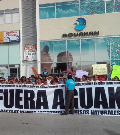 OPTÓ AGUAKÁN POR JUDICIALIZAR RELACIÓN CON EL GOBIERNO: Deposita contraprestación por concesión ante juzgado en la Ciudad de México
