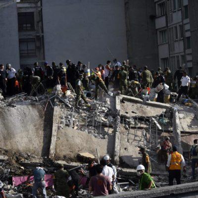 SISMO EN MÉXICO | Se eleva a 225 la cifra de muertos por terremoto de 7.1 grados Richter; CDMX, Morelos, Puebla, Edomex, Guerrero y Oaxaca, los más castigados