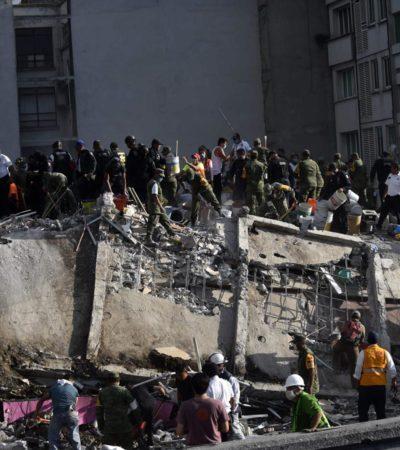 SISMO EN MÉXICO   Se eleva a 225 la cifra de muertos por terremoto de 7.1 grados Richter; CDMX, Morelos, Puebla, Edomex, Guerrero y Oaxaca, los más castigados