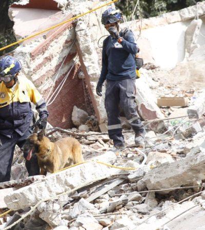 Asciende a 366 el número de muertos por el sismo del 19 de septiembre