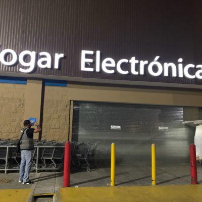 CLAUSURAN WALMART EN LA MADRUGADA: Sorprenden a menor ingiriendo alcohol en tienda de Cancún y detectan irregularidades en permisos