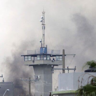 SANGRIENTO MOTÍN EN PENAL DE CADEREYTA: Saldo preliminar de al menos 13 muertos y 8 heridos graves