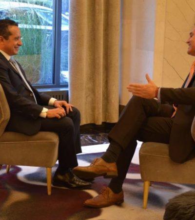 PROMOCIONA CARLOS JOAQUÍN DESTINOS DE QR: Participa Gobernador en entrevistas con medios de comunicación especializados en turismo en EU