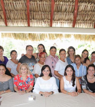 Se reúne Alcaldesa con el Consejo de Mujeres Empresarias de Puerto Morelos