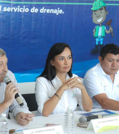 Invertirá Aguakán más de 70 mdp para ampliar drenaje de Puerto Morelos