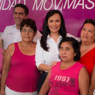 CONTRA EL CÁNCER DE MAMA: Lanza Gobierno de Puerto Morelos la campaña 'Yo me cuido, ¿y tú?'
