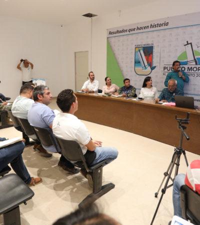 Instalan en Puerto Morelos la sesión permanente del Comité Municipal Especializado contra Huracanes, bajo las premisas de prevención y preparación