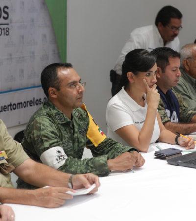 Mantiene Puerto Morelos protocolos de seguridad por la tormenta tropical 'Nate'