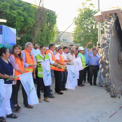 Inician obras de introducción de drenaje en la colonia Zetina Gasca