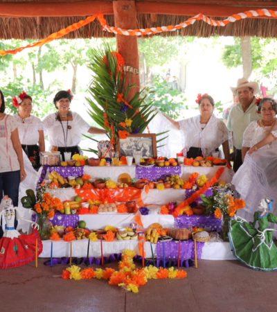 Promueven preservaciones de las tradiciones en Puerto Morelos