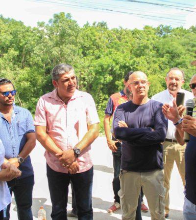 Inician trabajos de terracería en la llamada Zona Urbana de Puerto Morelos