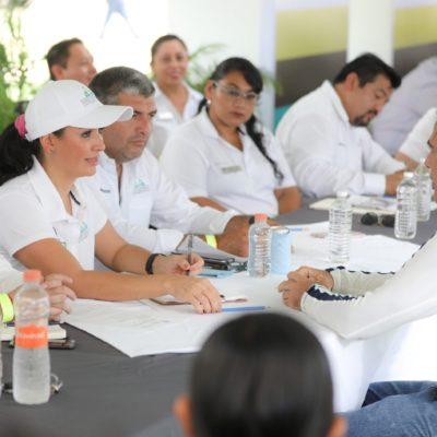 Reitera Laura Fernández compromiso de mantener un 'gobierno de puertas abiertas' en Puerto Morelos