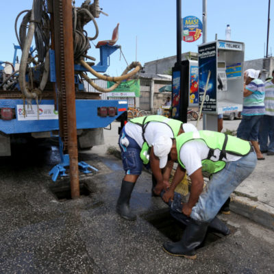 Prevé gobierno de Remberto Estrada entrega de infraestructura pluvial al finalizar 2017
